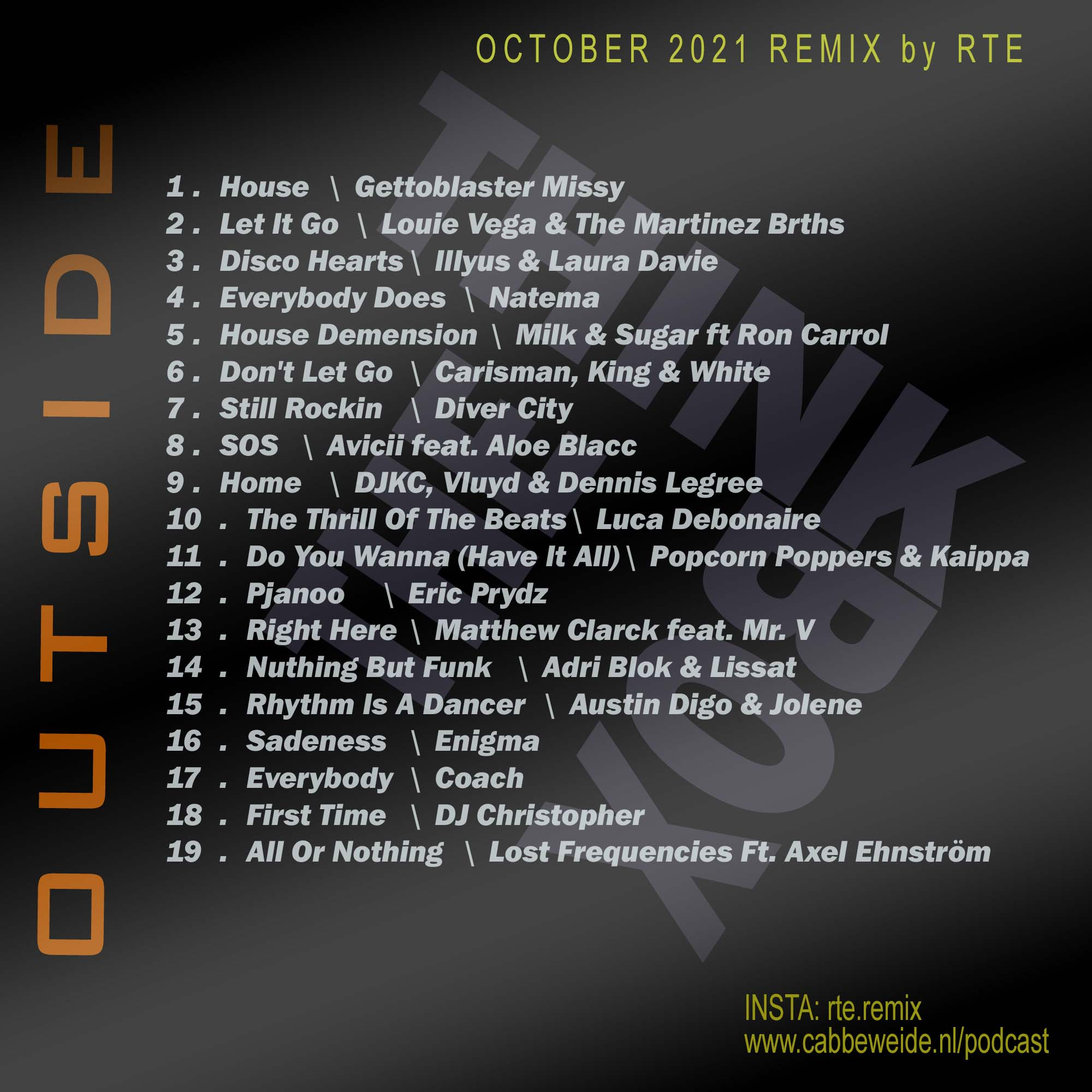 OCTOBER 2021 REMIX by RTE